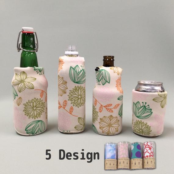 【送料無料】Ooba the multipurpose koozie  :Design M size :  ペットボトルカバー缶クージー 缶 ホルダー  保冷缶ホルダー クージー 保冷ドリンククーラー