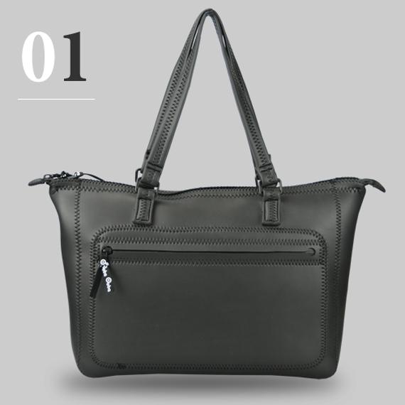 【送料無料】Ooba ブラックスキンバッグ01  Black Skin Bag01 ビジネストート