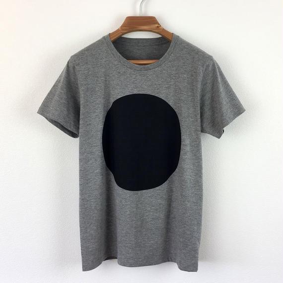 丸図Tシャツ_鼠