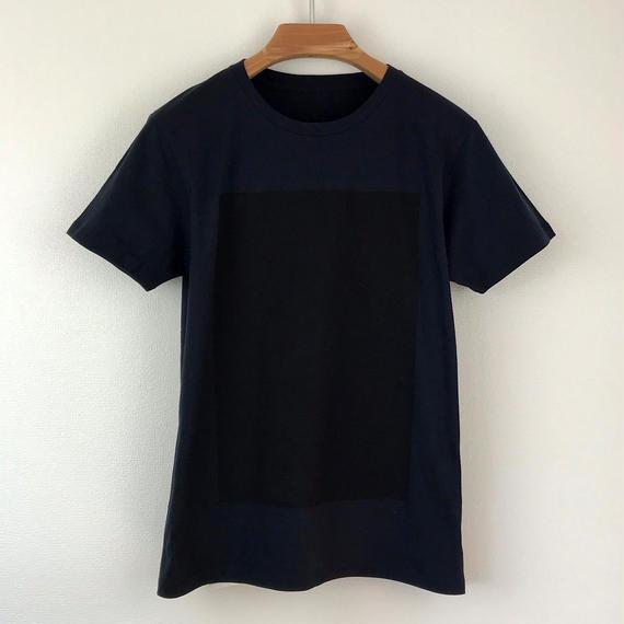 角図Tシャツ_濃紺