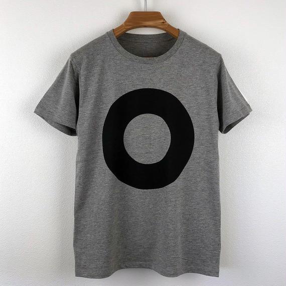 円図Tシャツ_鼠