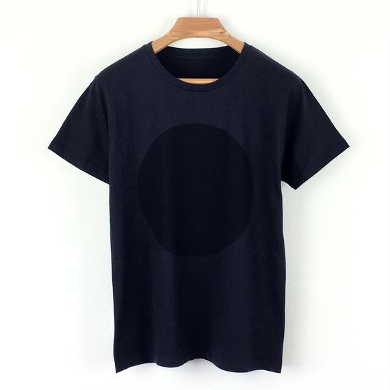 丸図Tシャツ_濃紺