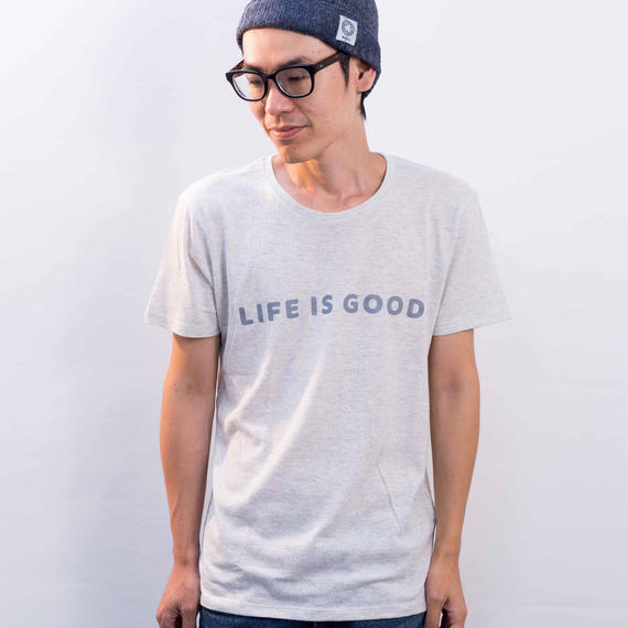 LIFE IS GOOD Tシャツ(オートミール)