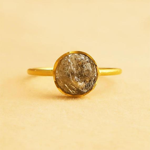 ダイヤ原石  { Ring }  diamond K18