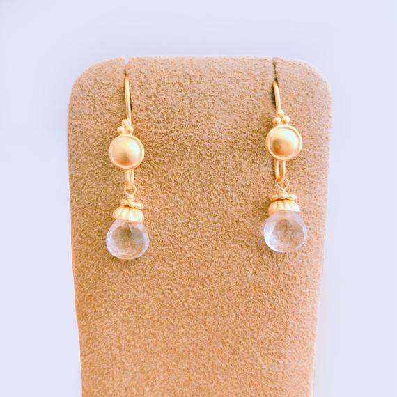 Petit Bell { Earrings } crystal
