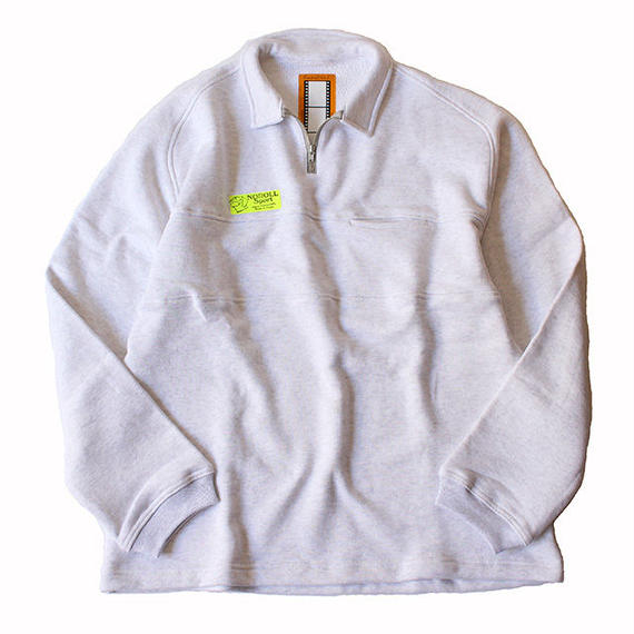 "NOROLL ""SHORE"" H/Z sweat shirts - Gray"