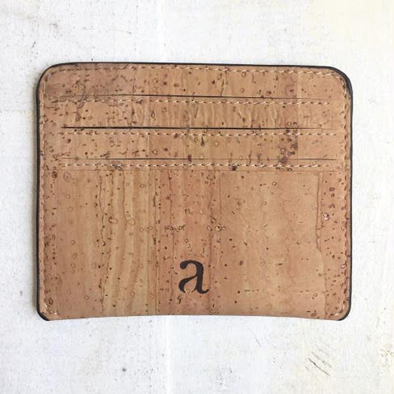 Aasha カードケース~Natural~ コルク製