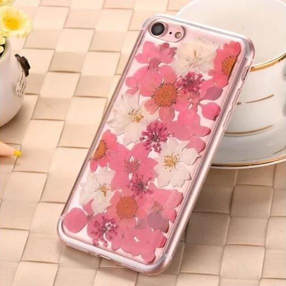 iPhone7 flower case