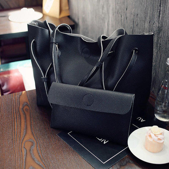 Tote bag × pouch