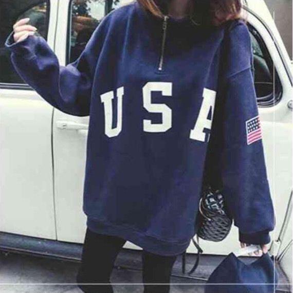USA logo Sweat