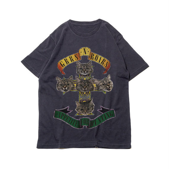 CA8AW-JE15 DISTRESSED KATE TEE / GNR