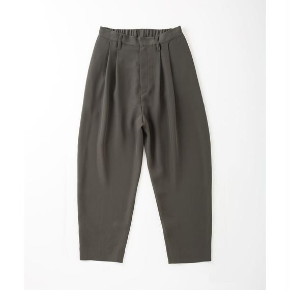 PA7AW-PT01 GEORGETTE TUCK PANTS