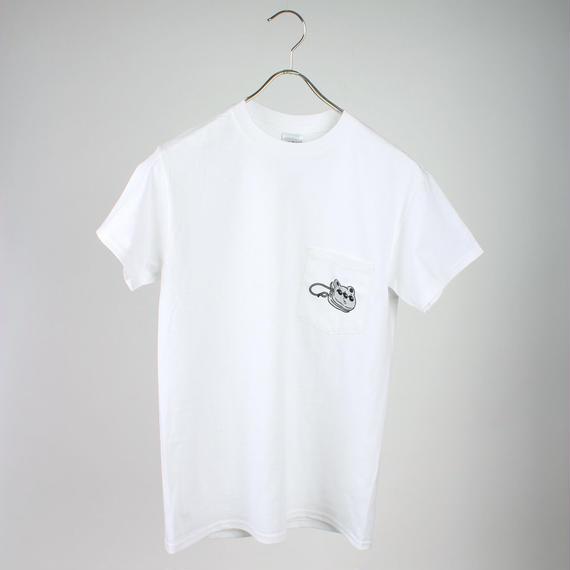 【平行×yoyorecreation】くまめヨーヨーポケットTシャツ