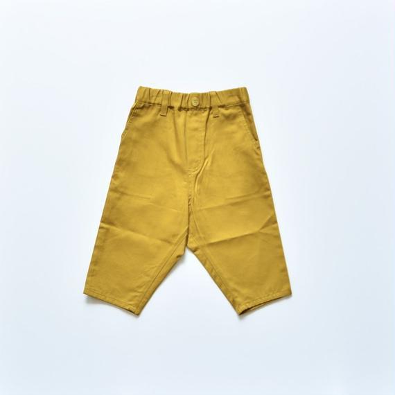 【 nunu forme 2018AW 】10-613-007 カツラギバギーパンツ / Mustard