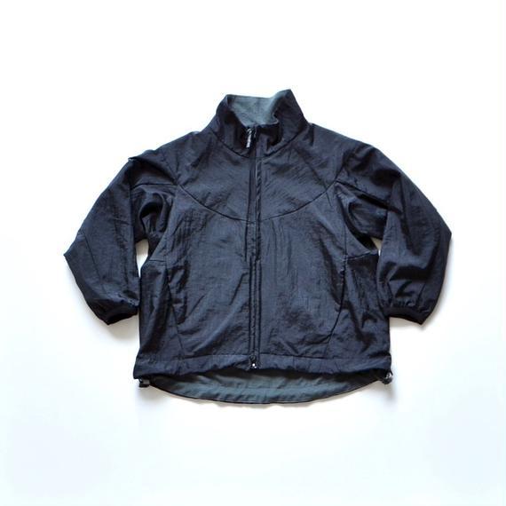 【 MOUN TEN. 2018AW 】182MT008 / ナイロンワッシャー サーモブルゾン / black / 125,140cm