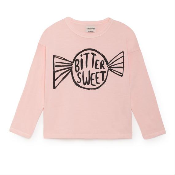 【 Bobo Choses 2018AW 】218004 Bitter Sweet Round Neck T-Shirt