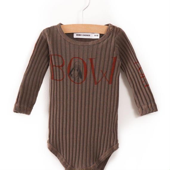 【 bobo Choses 2017AW】217160 Body Bow  / 6-12ヶ月