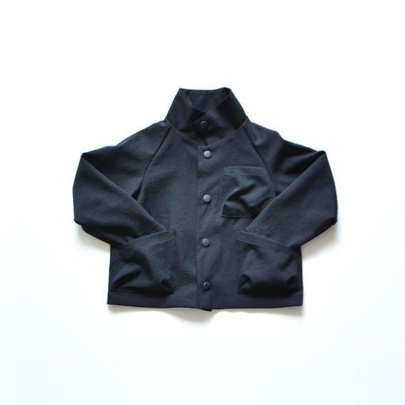 【 MOUN TEN. 2018AW 】182MT003 / ドライストレッチ ワークジャケット / black / 95,110cm