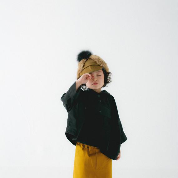 【 nunu forme 2018AW 】10-104-054A ワイドアノラック / Black / レディースサイズ