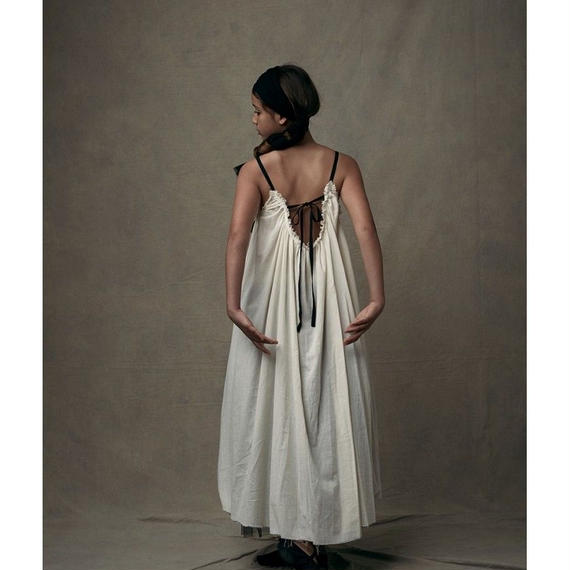【 Little Creative Factory 18SS 】Ballet Sun Dress / IVORY