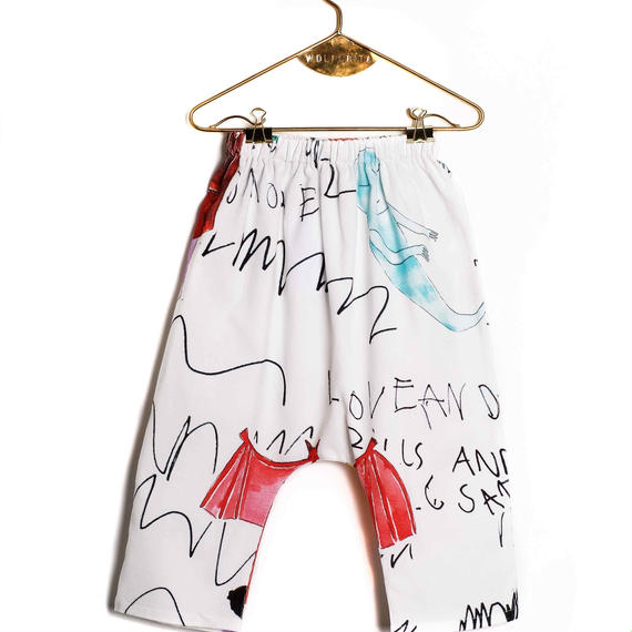 【 WOLF&RITA BABY 2018AW 】 NELSON - Baggy Trousers / FOLK N' ROLL