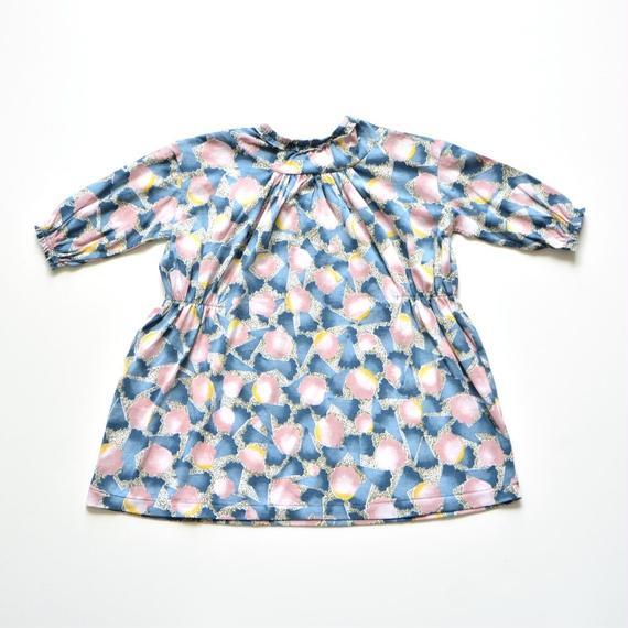 """【 ミナペルホネン 18AW 】WA8903P Ariel """"ワンピース"""" / pink / 80-100cm"""