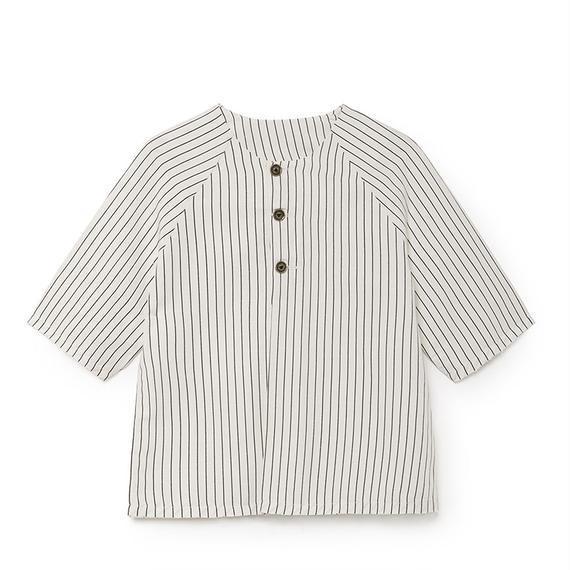 【 Little Creative Factory 18SS 】Tap Shirt / WHITE