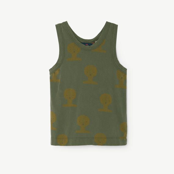 【 THE ANIMALS OBSERVATORY 2018SS 】000738 FROG / Deep Green