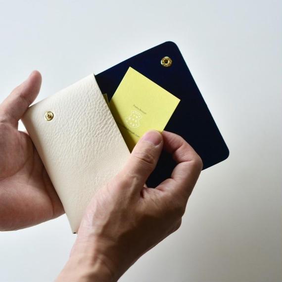 """【 ミナペルホネン 18SS 】 """" luck pack"""" カードケース / white  (WS7536)"""