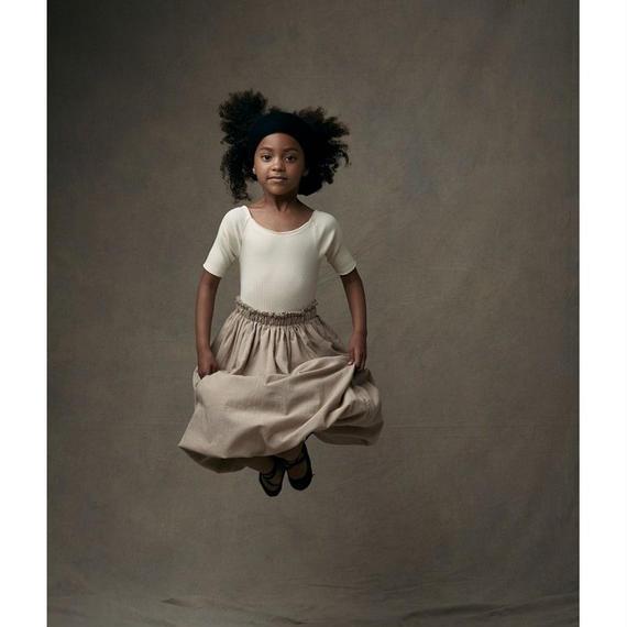 【 Little Creative Factory 18SS 】 Ballet Long Skirt / AMBER