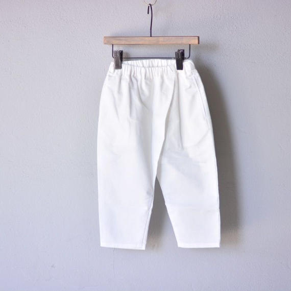 【 WONDER FULL LIFE 2018AW 】 PANTS / white