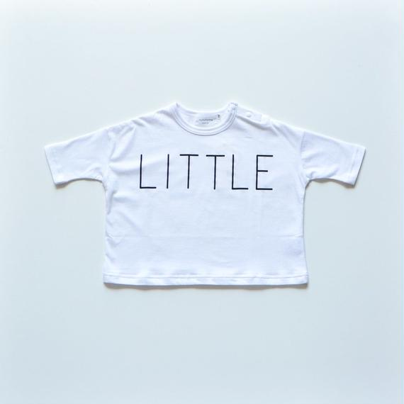 【 nunu forme 2018AW 】10-838-500A little T / White / メンズサイズ / レディースサイズ
