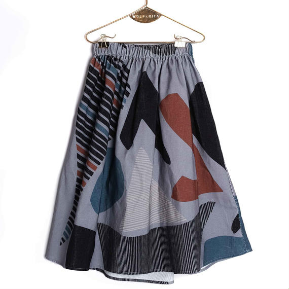 【 WOLF&RITA 2018AW 】 LURDES - Skirt / SHAPES - CORDS