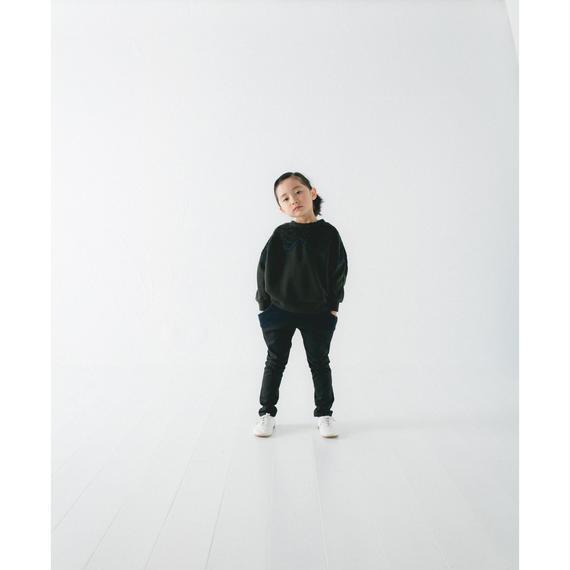 【 nunu forme 2018AW 】10-910-550 テープトレーナー / Charcoal×Khaki
