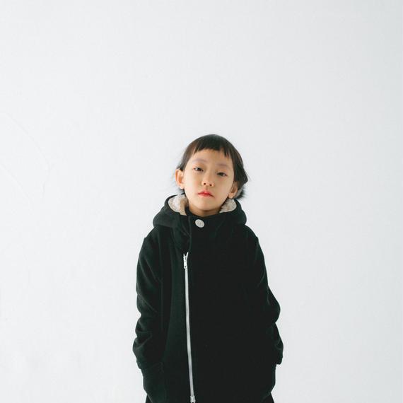 【 nunu forme 2018AW 】10-835-556 フリースコート / Black