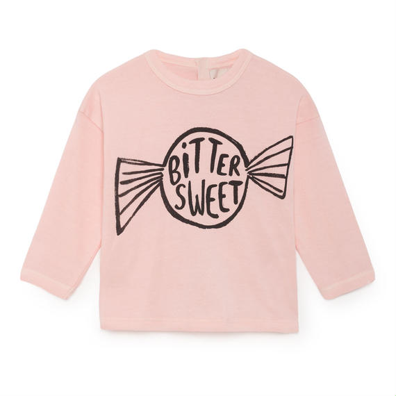 【 Bobo Choses 2018AW 】218163 Bitter Sweet Round Neck T-Shirt