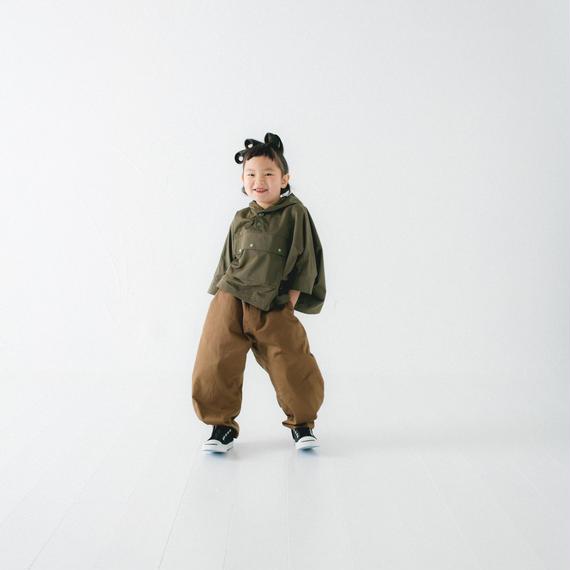 【 nunu forme 2018AW 】10-618-007A ヘムタックカーブパンツ / Brown / レディースサイズ