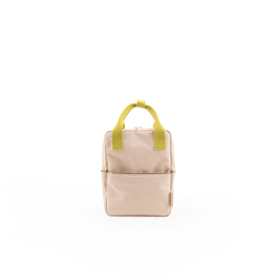 【 Sticky Lemon 】 BACKPACK / NUDE PINK / size S