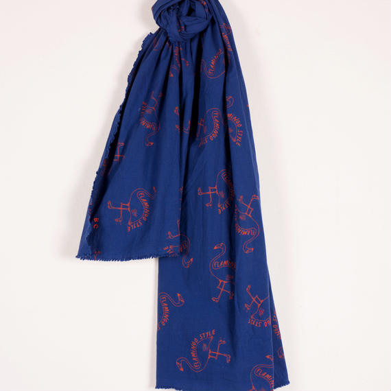【BOBO CHOSES 2017SS】117267 Flamingos Scarf