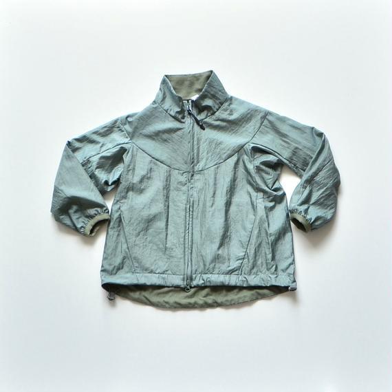 【 MOUN TEN. 2018AW 】182MT008 / ナイロンワッシャー サーモブルゾン / ash green / 95,110cm