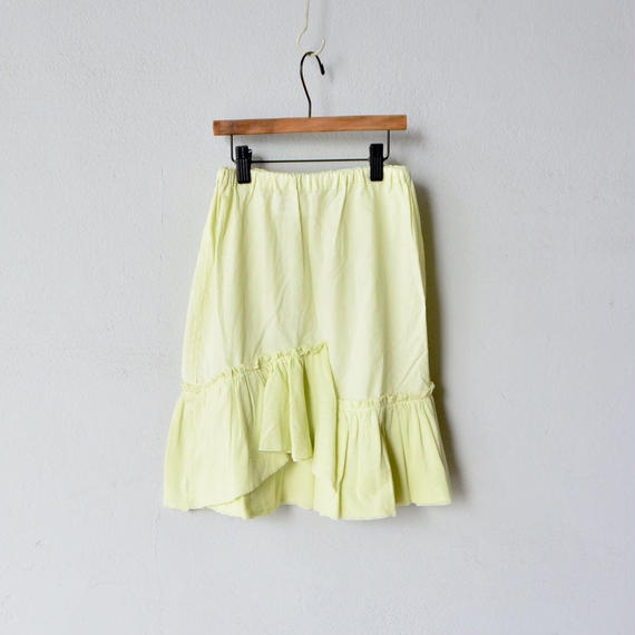 【 folk made 2018SS】No.16 tulle skirt / アイボリー