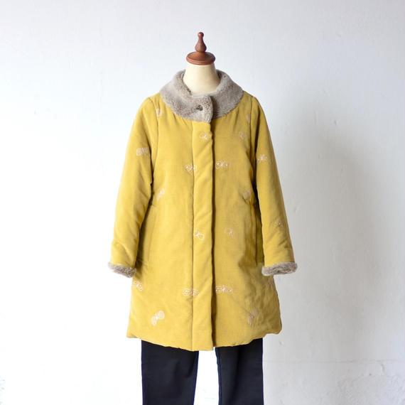 """【 ミナペルホネン 18AW 】WA6056P choucho """"コート"""" / khaki / 90,100cm"""