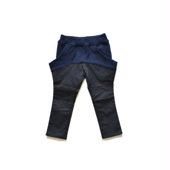 【 nunu forme 2018AW 】10-620-047A ドロップタイトパンツ / Black / レディースサイズ