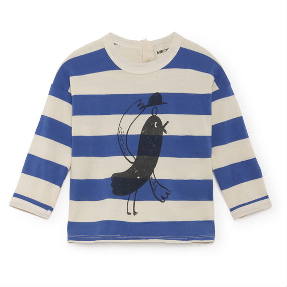 【 Bobo Choses 2018AW 】218168 Bird Round Neck T-Shirt
