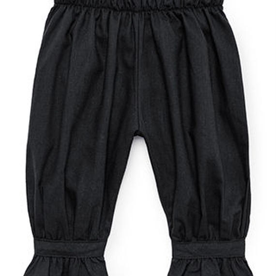 【 Little Creative Factory 2018AW】Baby Horizon Pants / BLACK