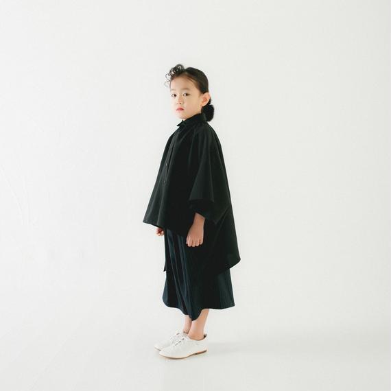 【 nunu forme 2018AW 】10-537-009 マント風ブラウス / Black