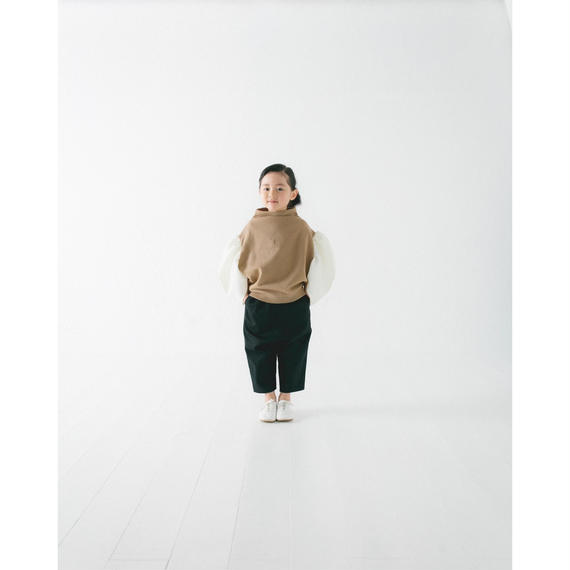 【 nunu forme 2018AW 】10-613-007A カツラギバギーパンツ / Black / レディースサイズ