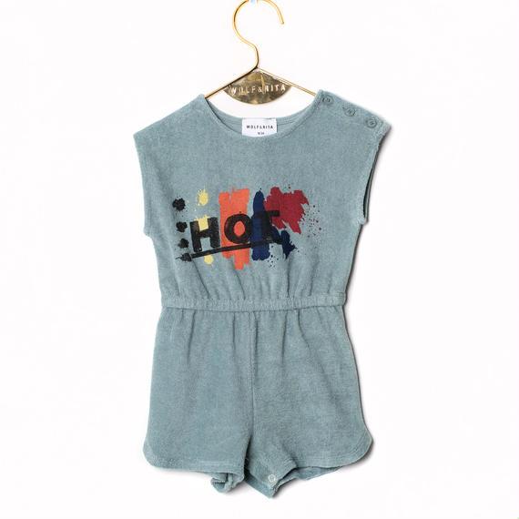 【BABY】【 WOLF&RITA 2018SS 】EMA - Jumpsuit / HOT PRINT