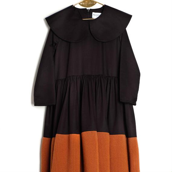 【 WOLF&RITA 2018AW 】 PALMIRA - Dress / BLACK