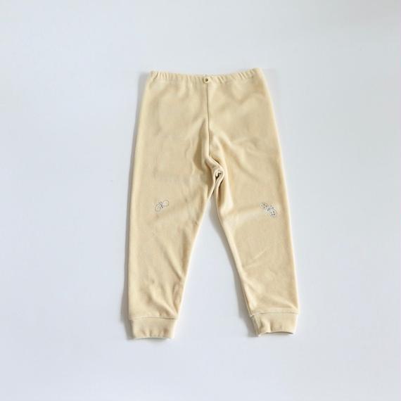 """【 ミナペルホネン 18AW 】WA8939P choucho """"パンツ"""" / light beige / 80-100cm"""